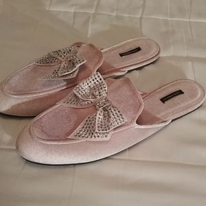Light pink slippers from Victoria secret